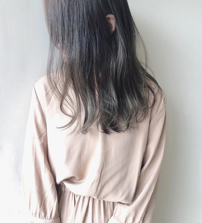 暗髪 透明感 ダメージレス ツヤ髪 ヘアスタイルや髪型の写真・画像 | 阿部 純 / Amitie by pretty