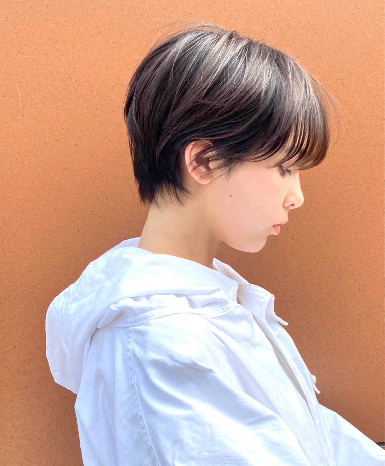 マッシュショート ショートヘア ショート ショートボブ ヘアスタイルや髪型の写真・画像