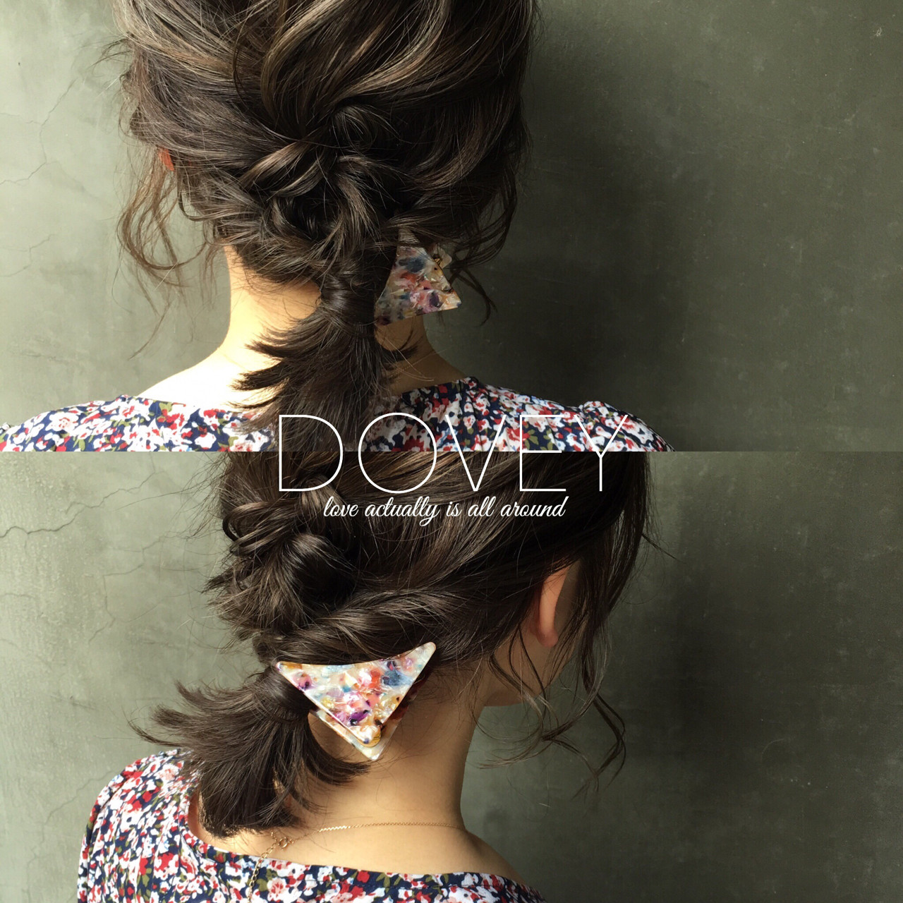 ボブ 簡単ヘアアレンジ 大人かわいい 上品 ヘアスタイルや髪型の写真・画像 | 平井 英勝 / DOVEY