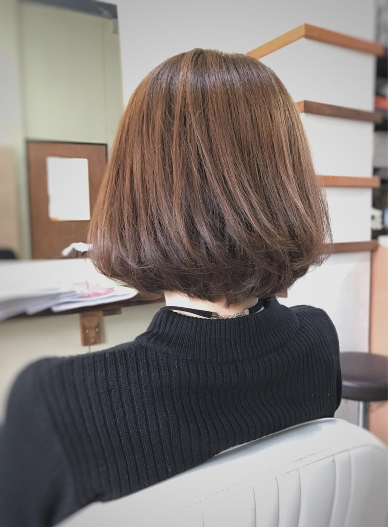 ヘアアレンジ ショートボブ ショート こなれ感 ヘアスタイルや髪型の写真・画像 | サワ / Seamu
