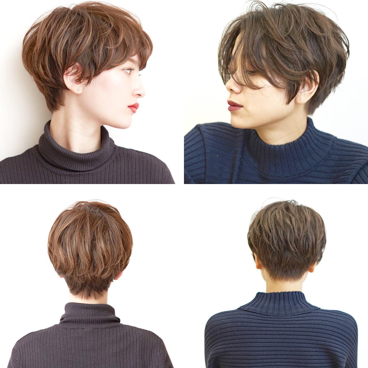 アンニュイほつれヘア スポーツ ハンサムショート ナチュラル ヘアスタイルや髪型の写真・画像 | ショートヘア美容師 #ナカイヒロキ / 『send by HAIR』