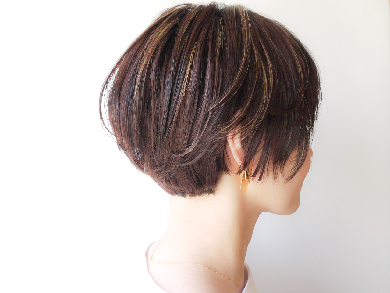 モテ髪 ゆるふわ ショートボブ コンサバ ヘアスタイルや髪型の写真・画像