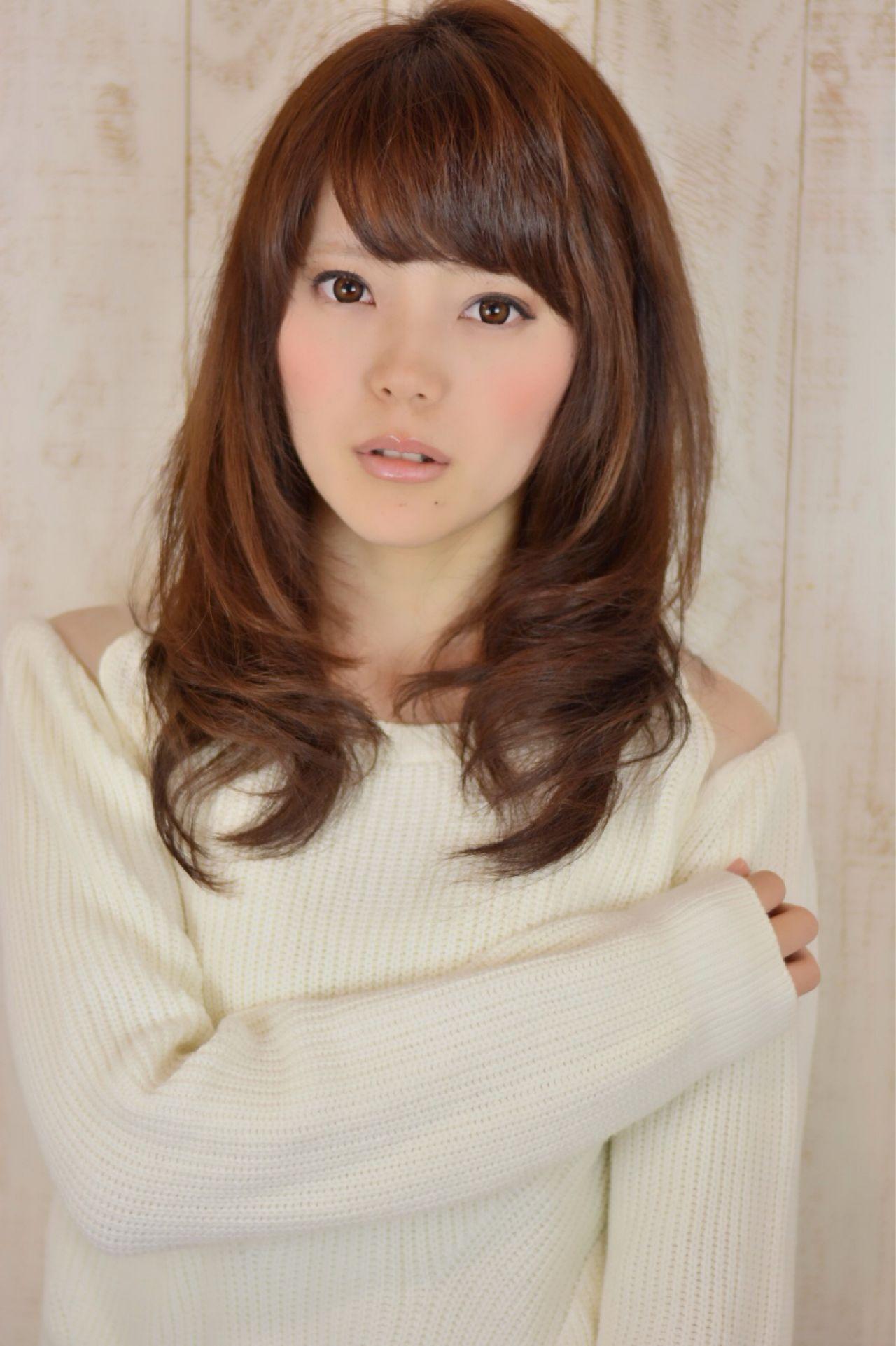 フェミニン 大人かわいい ナチュラル 卵型 ヘアスタイルや髪型の写真・画像 | 山田 あかり /