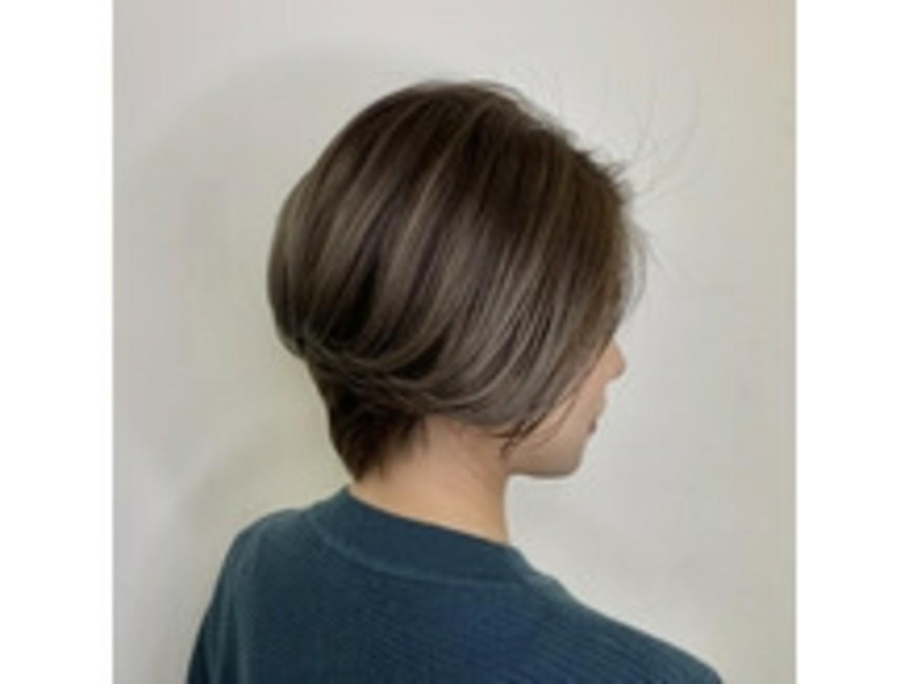 ショート エレガント 透明感 外国人風 ヘアスタイルや髪型の写真・画像 | 竹下 大貴 / ヴァンカウンシル 八尾店