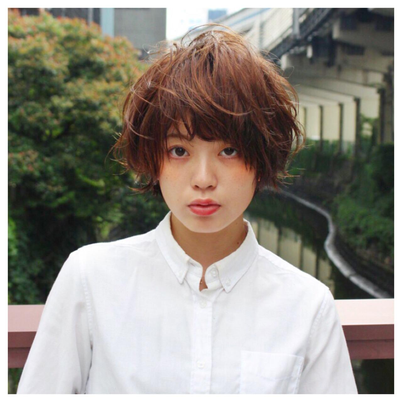 パーマ アッシュ ピュア ゆるふわ ヘアスタイルや髪型の写真・画像 | 廣瀬祐太 / Alma