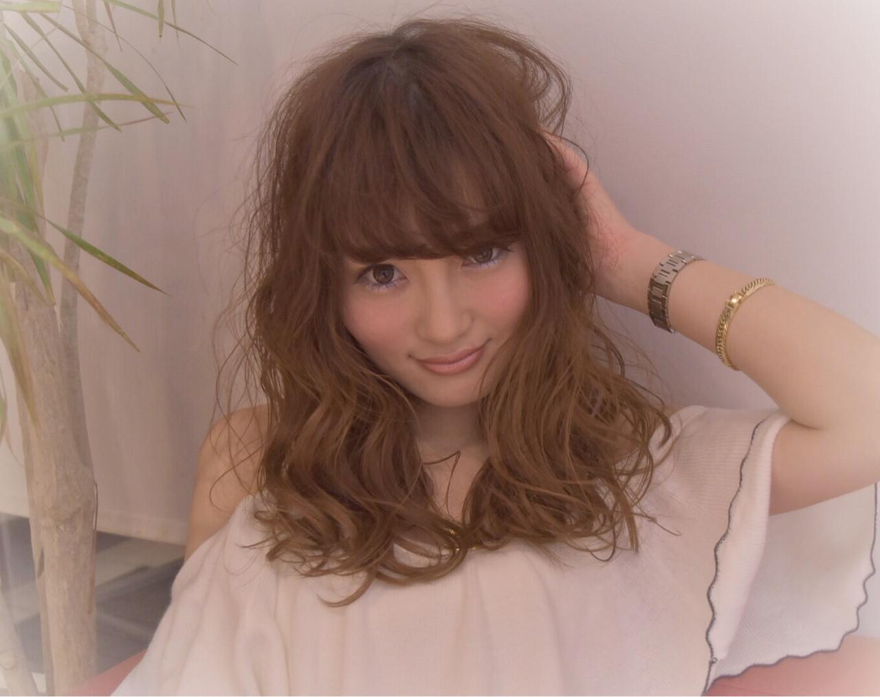 大人女子 大人かわいい ガーリー ニュアンス ヘアスタイルや髪型の写真・画像