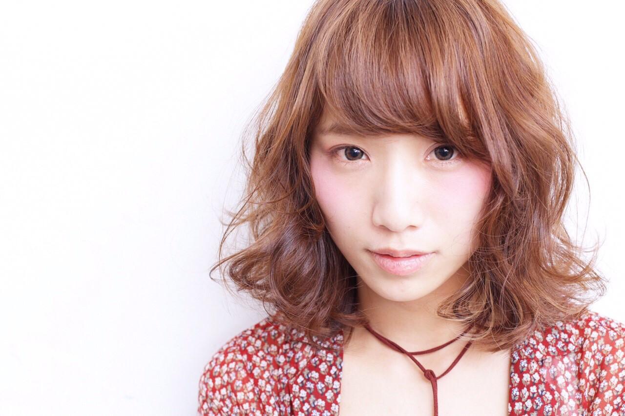 外ハネ 外国人風 ピュア 前髪あり ヘアスタイルや髪型の写真・画像 | Miki /