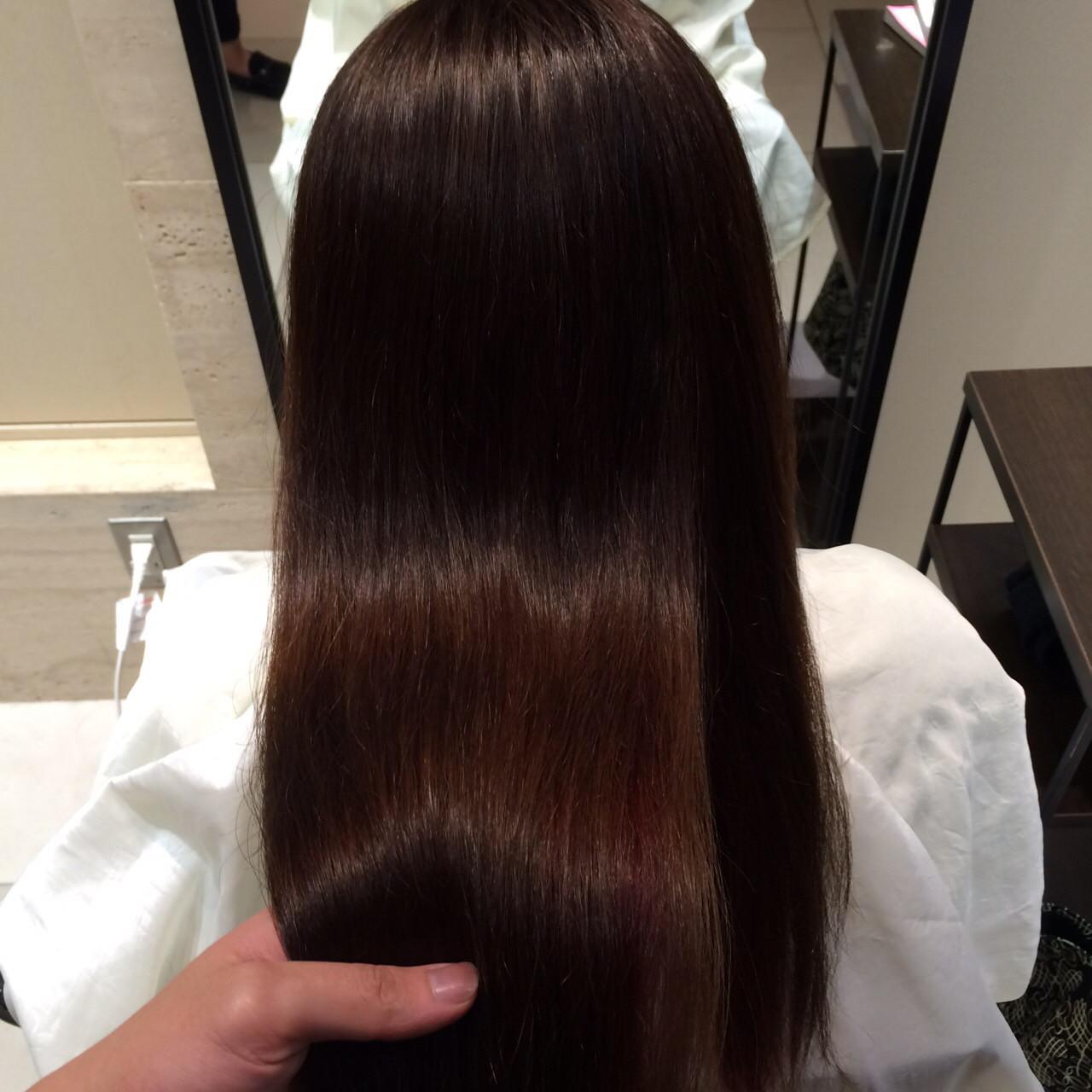 髪質改善の特徴