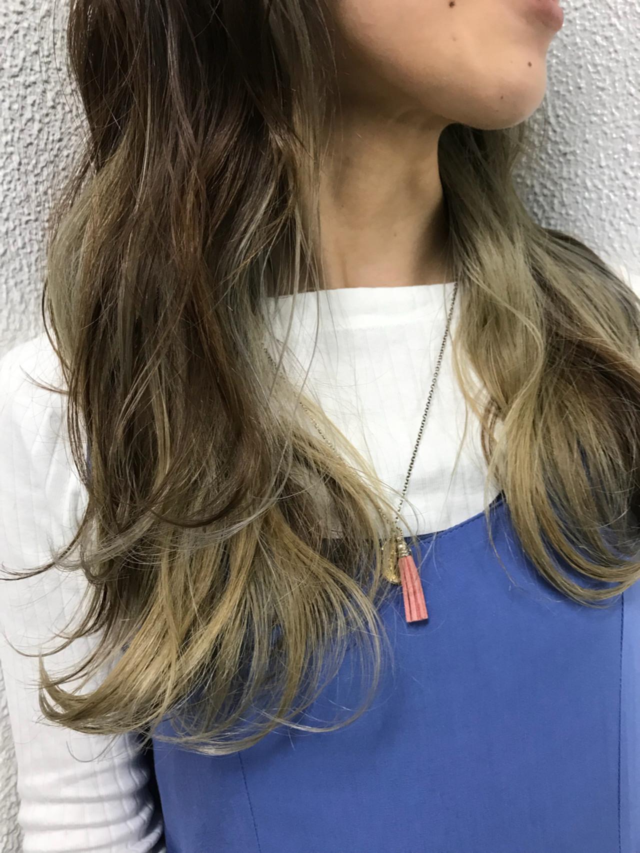 ストリート 外国人風 インナーカラー ハイライト ヘアスタイルや髪型の写真・画像 | 大越 勇嗣 / VISAGE Oak