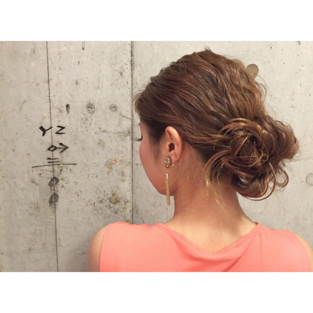ゆるふわ ハーフアップ 外国人風 簡単ヘアアレンジ ヘアスタイルや髪型の写真・画像 | 安達 優生 / U-REALM(ユーレルム)