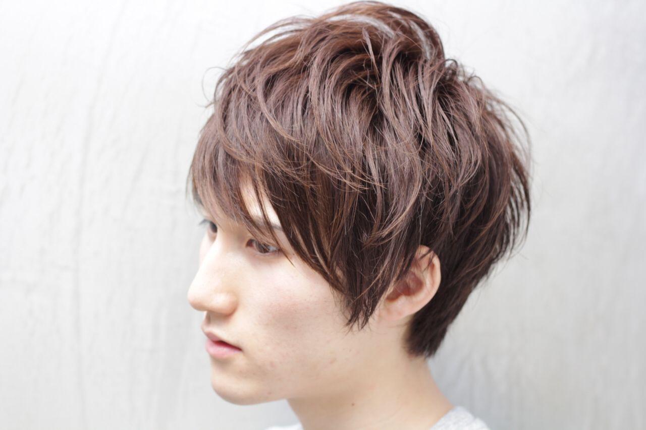 秋 ヘアスタイルや髪型の写真・画像 | 仲井 翼 / Luxera hair&este