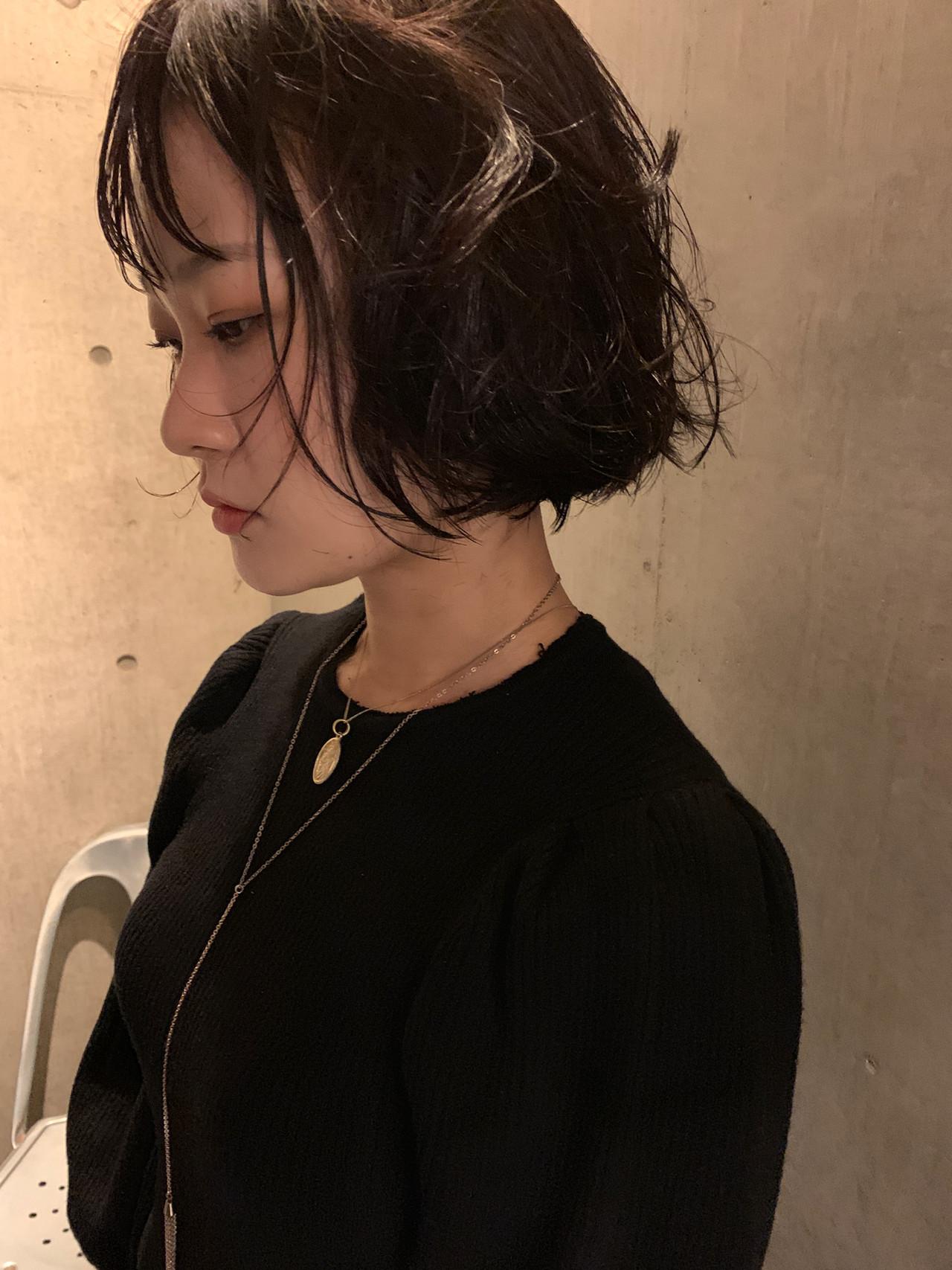 ショートヘア ミニボブ モード ベリーショート ヘアスタイルや髪型の写真・画像