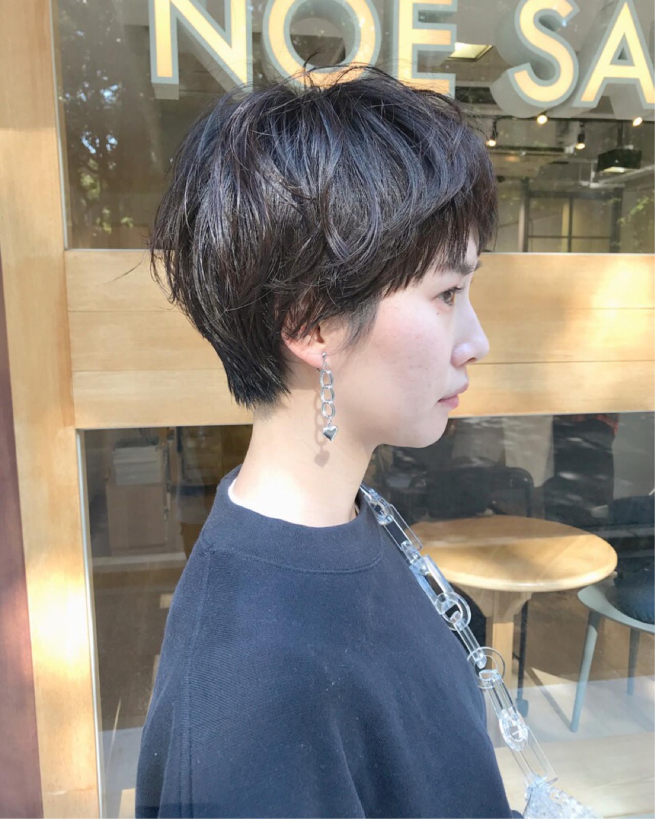 ナチュラル マッシュ 大人女子 外国人風 ヘアスタイルや髪型の写真・画像