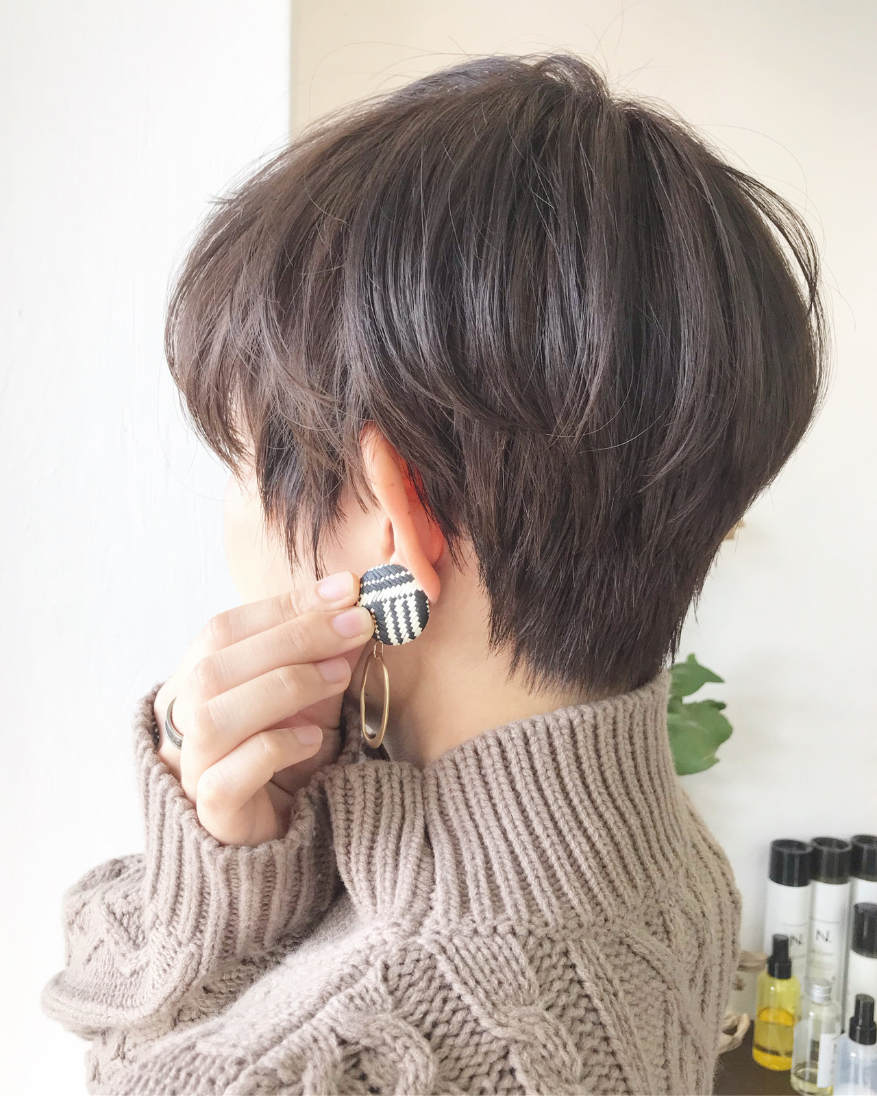チョコレート ショートヘア ショート ナチュラル ヘアスタイルや髪型の写真・画像 | Akane Ueda / Chillin Room