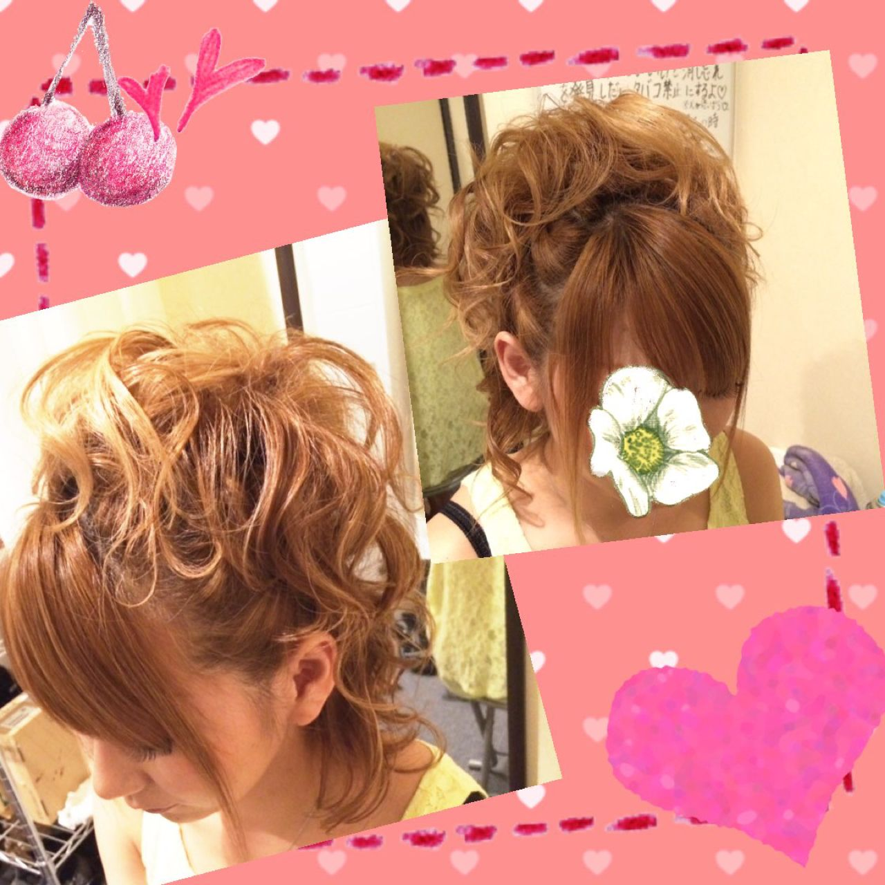ハーフアップ パーマ コンサバ ヘアアレンジ ヘアスタイルや髪型の写真・画像