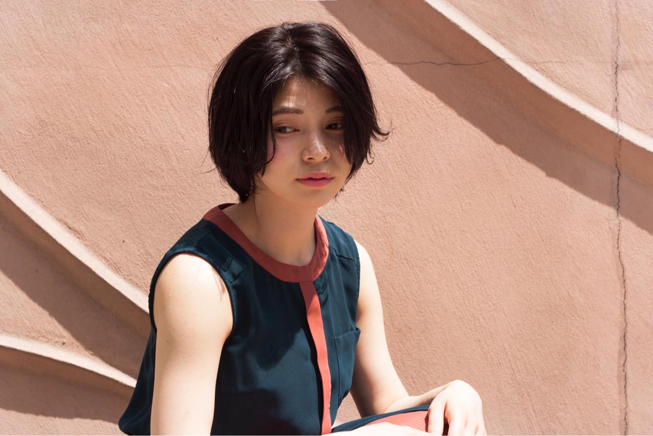 ニュアンス パーマ ナチュラル 大人女子 ヘアスタイルや髪型の写真・画像   勝田 祐介 / basil pupula