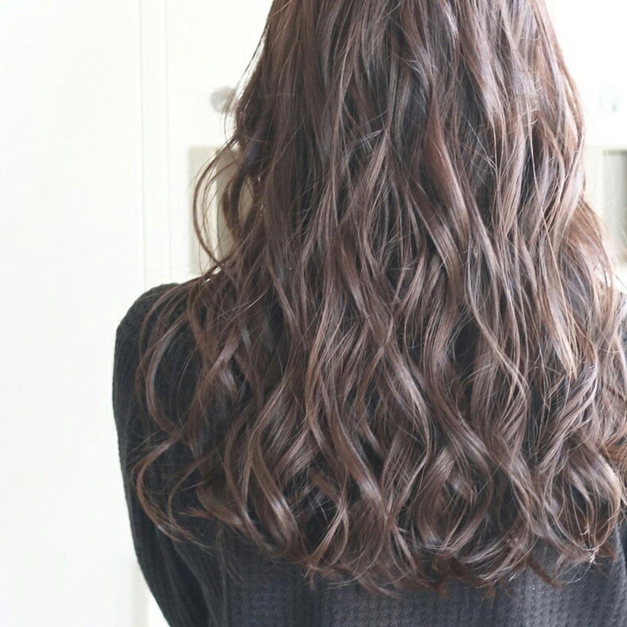 大人女子 上品 大人かわいい ロング ヘアスタイルや髪型の写真・画像