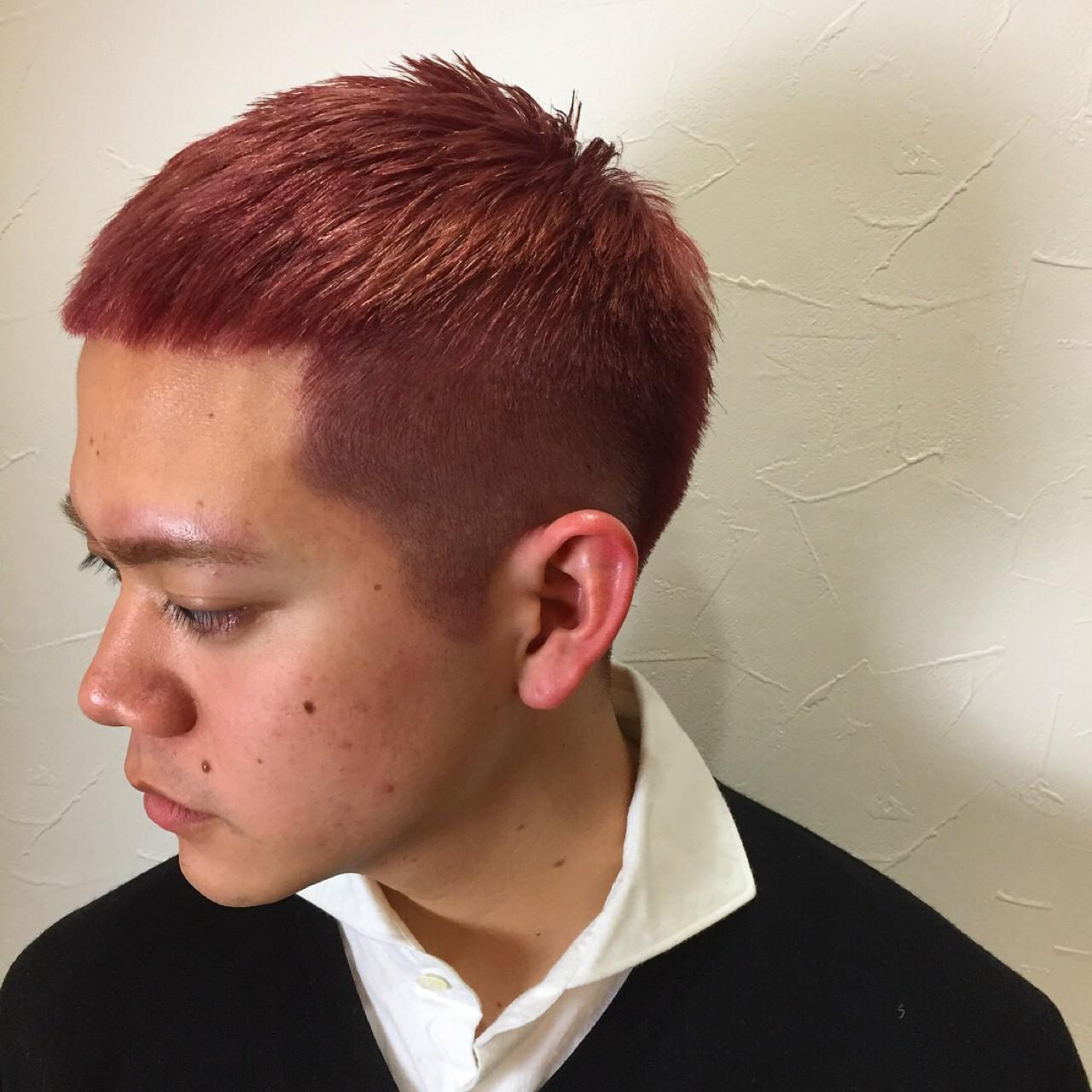 坊主 刈り上げ ボーイッシュ ショート ヘアスタイルや髪型の写真・画像