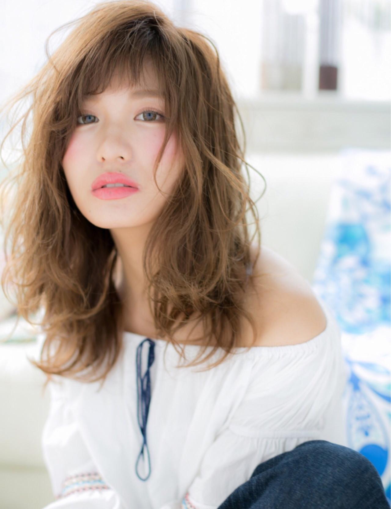 フェミニン 外国人風 秋 パーマ ヘアスタイルや髪型の写真・画像