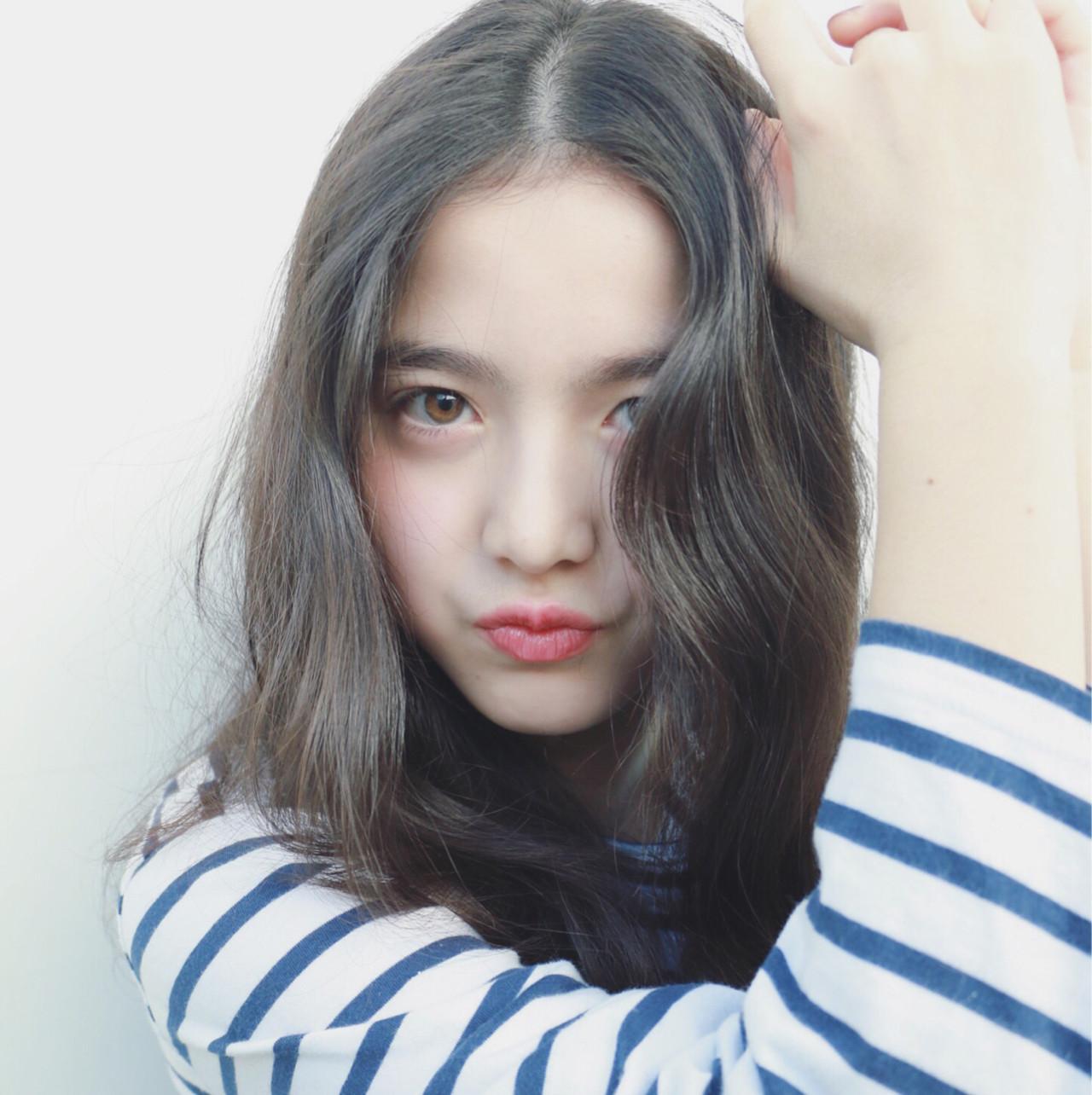 ナチュラル 外国人風カラー アッシュ ブルージュ ヘアスタイルや髪型の写真・画像 | 高橋 忍 / nanuk渋谷店(ナヌーク)