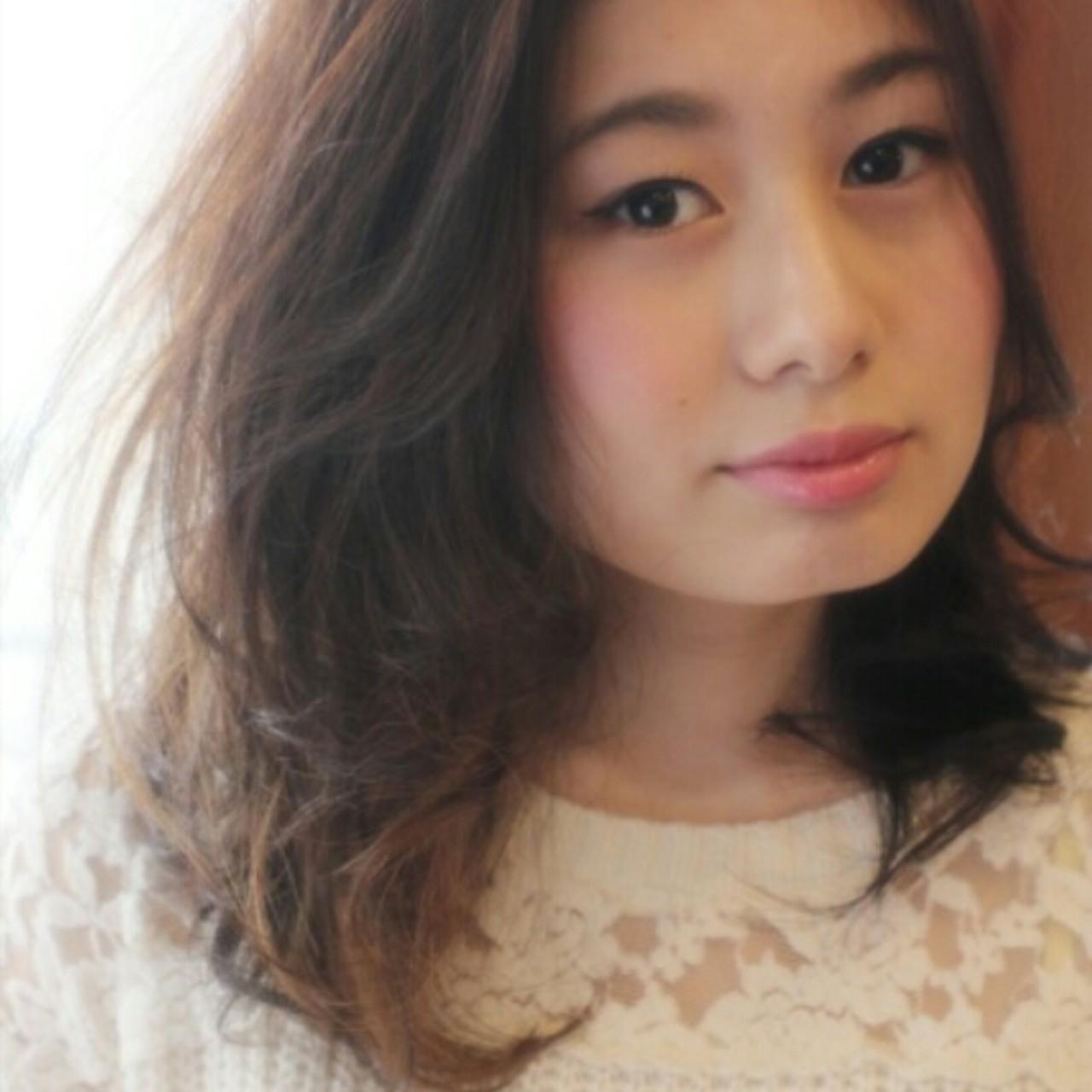 ゆるふわ ガーリー モテ髪 大人かわいい ヘアスタイルや髪型の写真・画像