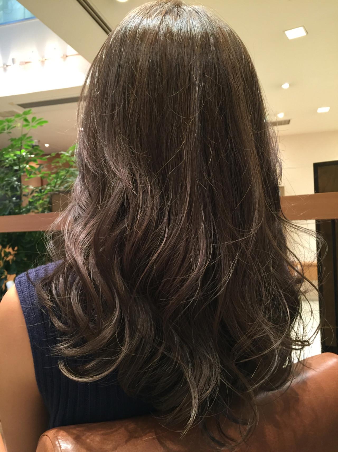 アッシュ ストリート 外国人風 グラデーションカラー ヘアスタイルや髪型の写真・画像