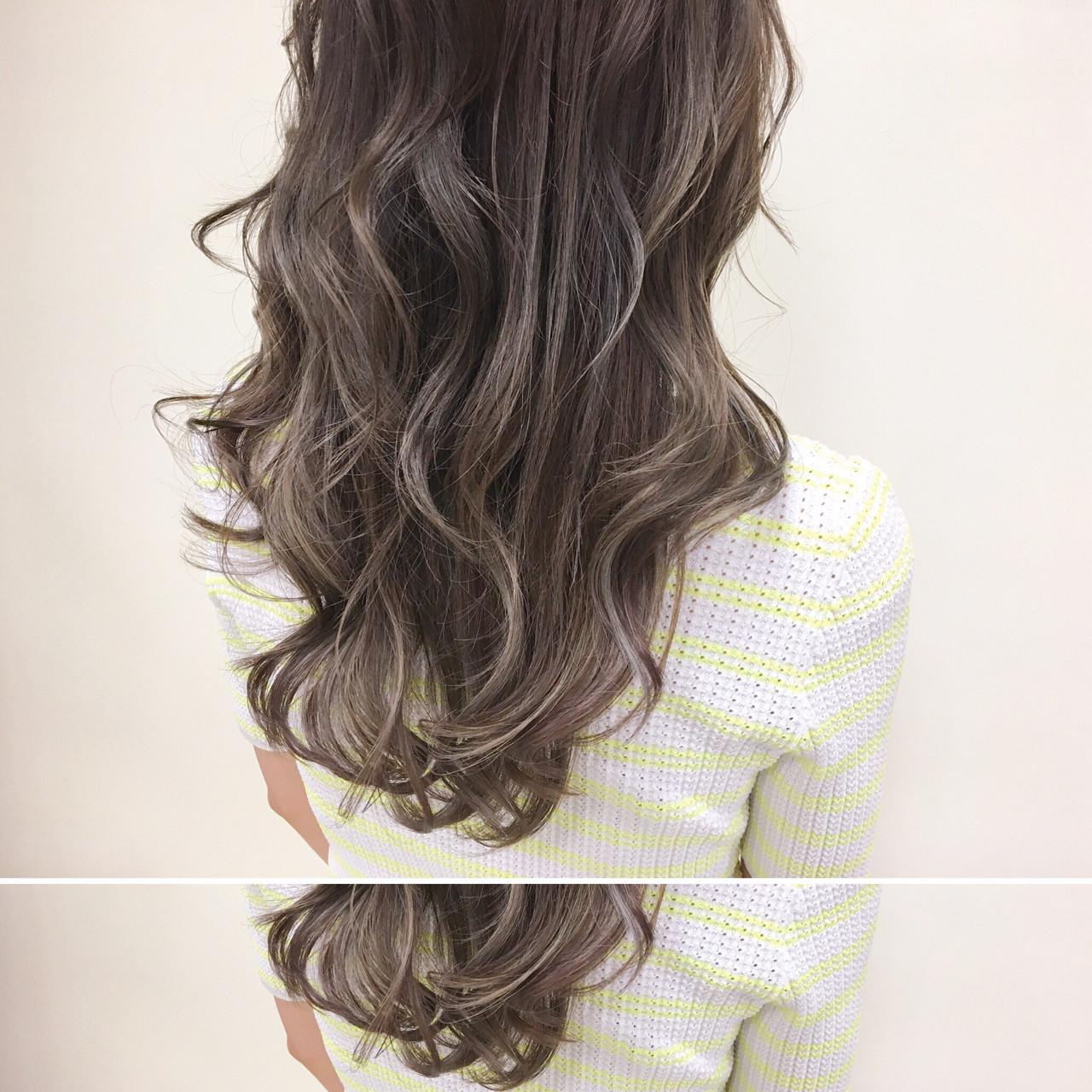 グラデーションカラー ナチュラル 大人かわいい セミロング ヘアスタイルや髪型の写真・画像 | 新垣修平 / CARE shinsaibashi