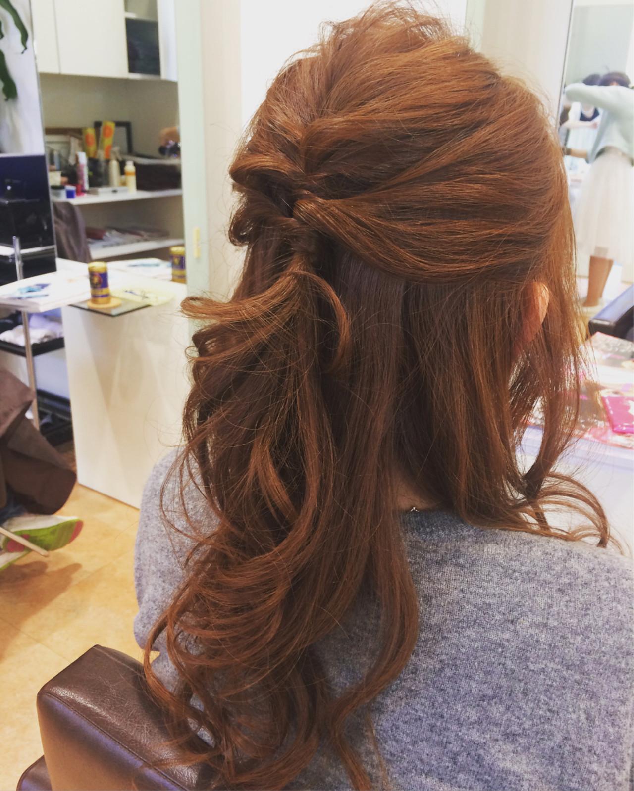 大人かわいい フェミニン 簡単ヘアアレンジ ショート ヘアスタイルや髪型の写真・画像