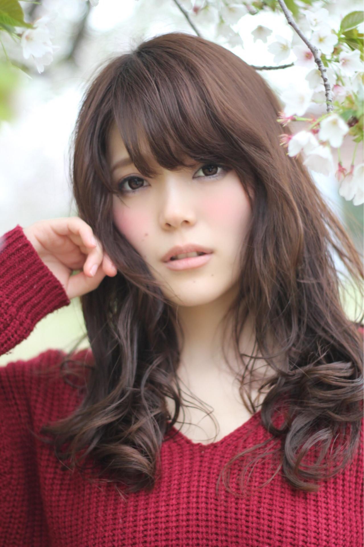 ゆるふわ モテ髪 コンサバ 大人かわいい ヘアスタイルや髪型の写真・画像 | 山田 あかり /