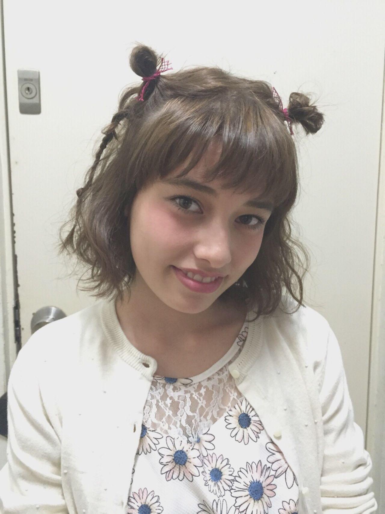 愛され モテ髪 ヘアアレンジ 三つ編み ヘアスタイルや髪型の写真・画像