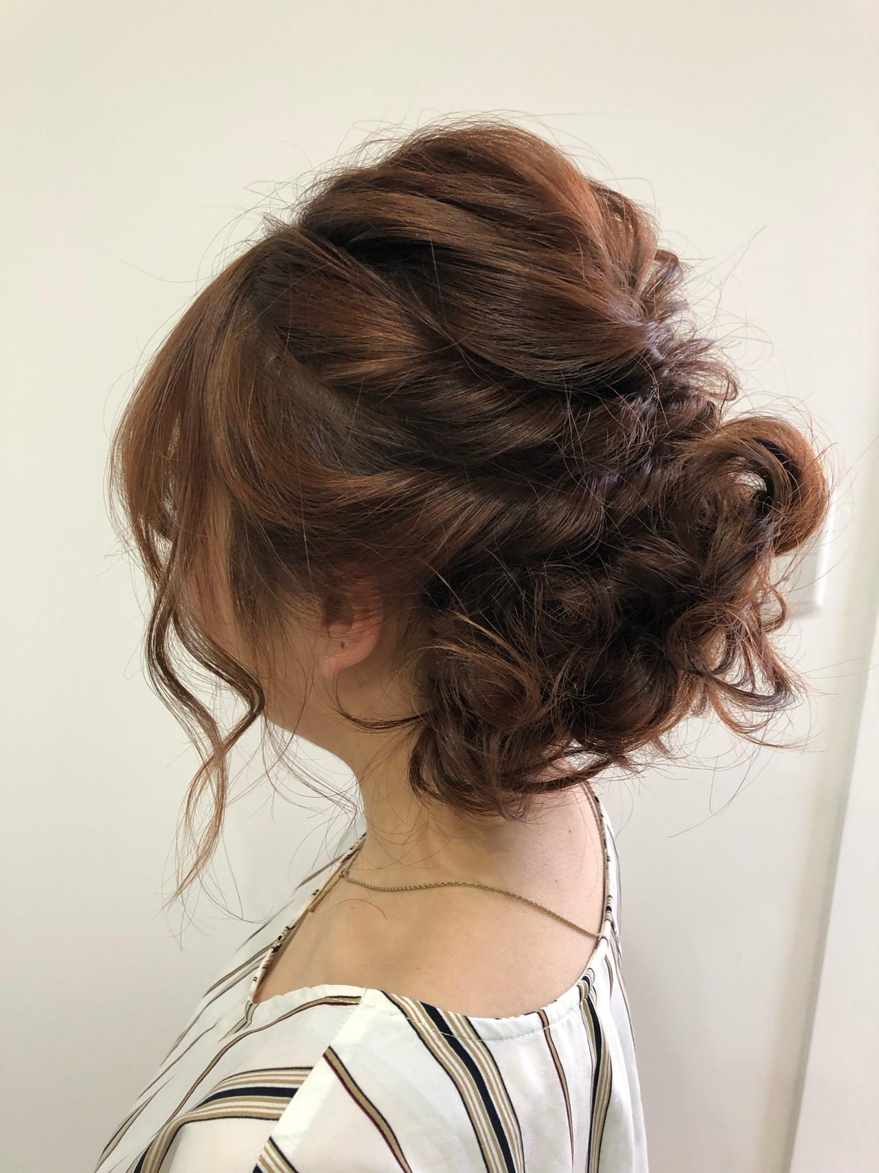 ナチュラル ヘアアレンジ ボブ デート ヘアスタイルや髪型の写真・画像 | 小倉 教志 / ICHARI uomachi