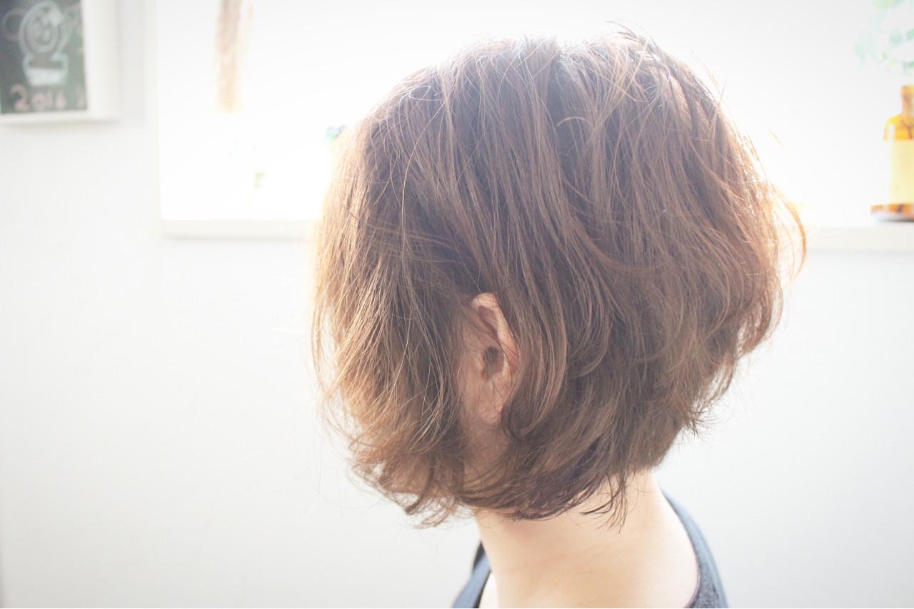 大人女子 ボブ 色気 ナチュラル ヘアスタイルや髪型の写真・画像
