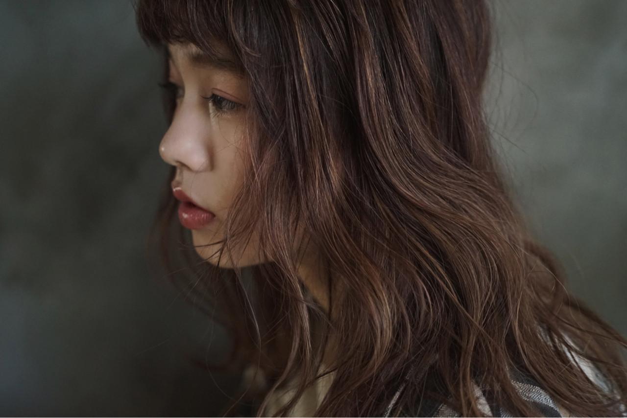 アンニュイほつれヘア ナチュラル オーガニック グレージュ ヘアスタイルや髪型の写真・画像 | 前野裕介 / enne hair&organic