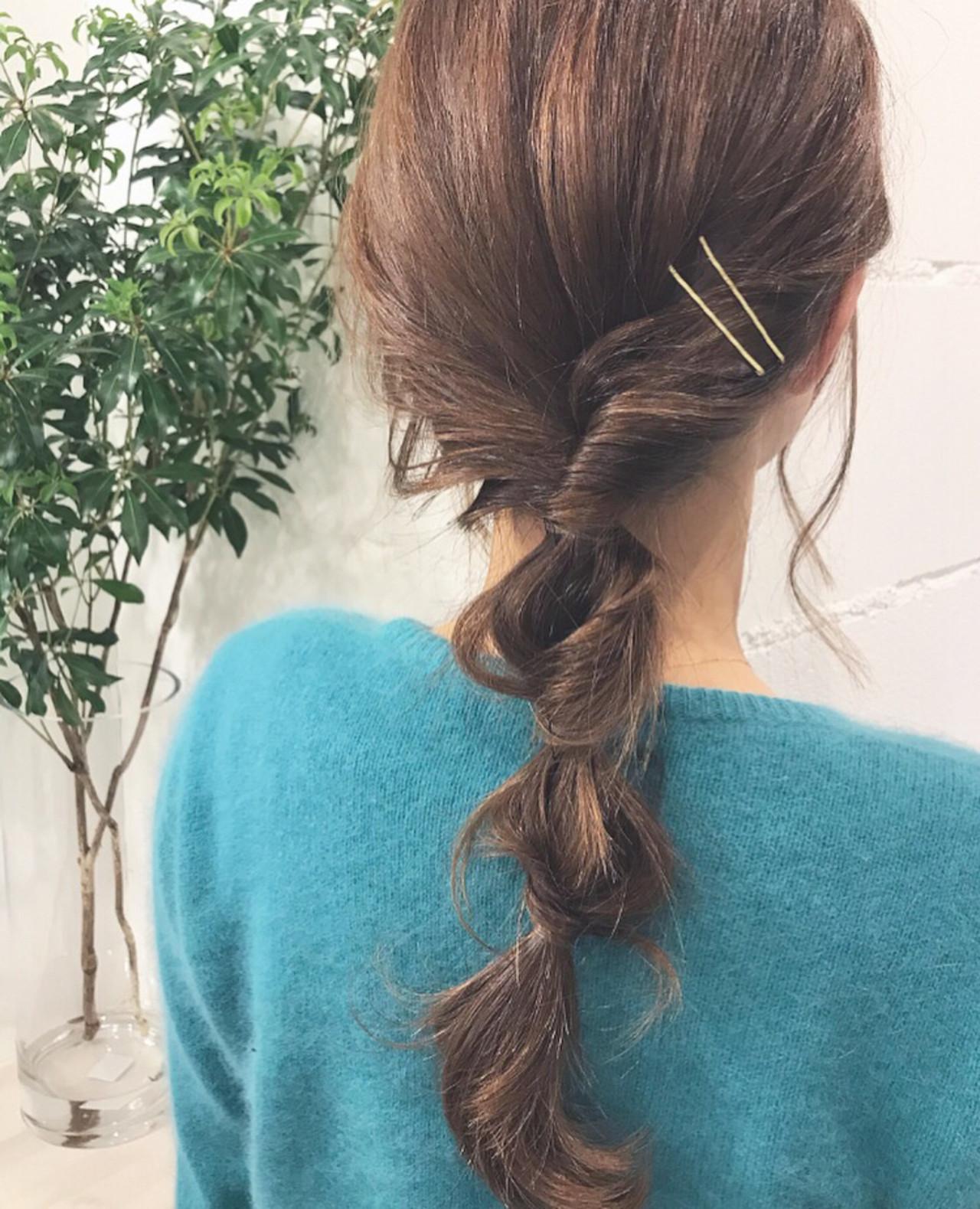 ヘアアレンジ ナチュラル アウトドア ロング ヘアスタイルや髪型の写真・画像 | 富永暁子 / SUMMER
