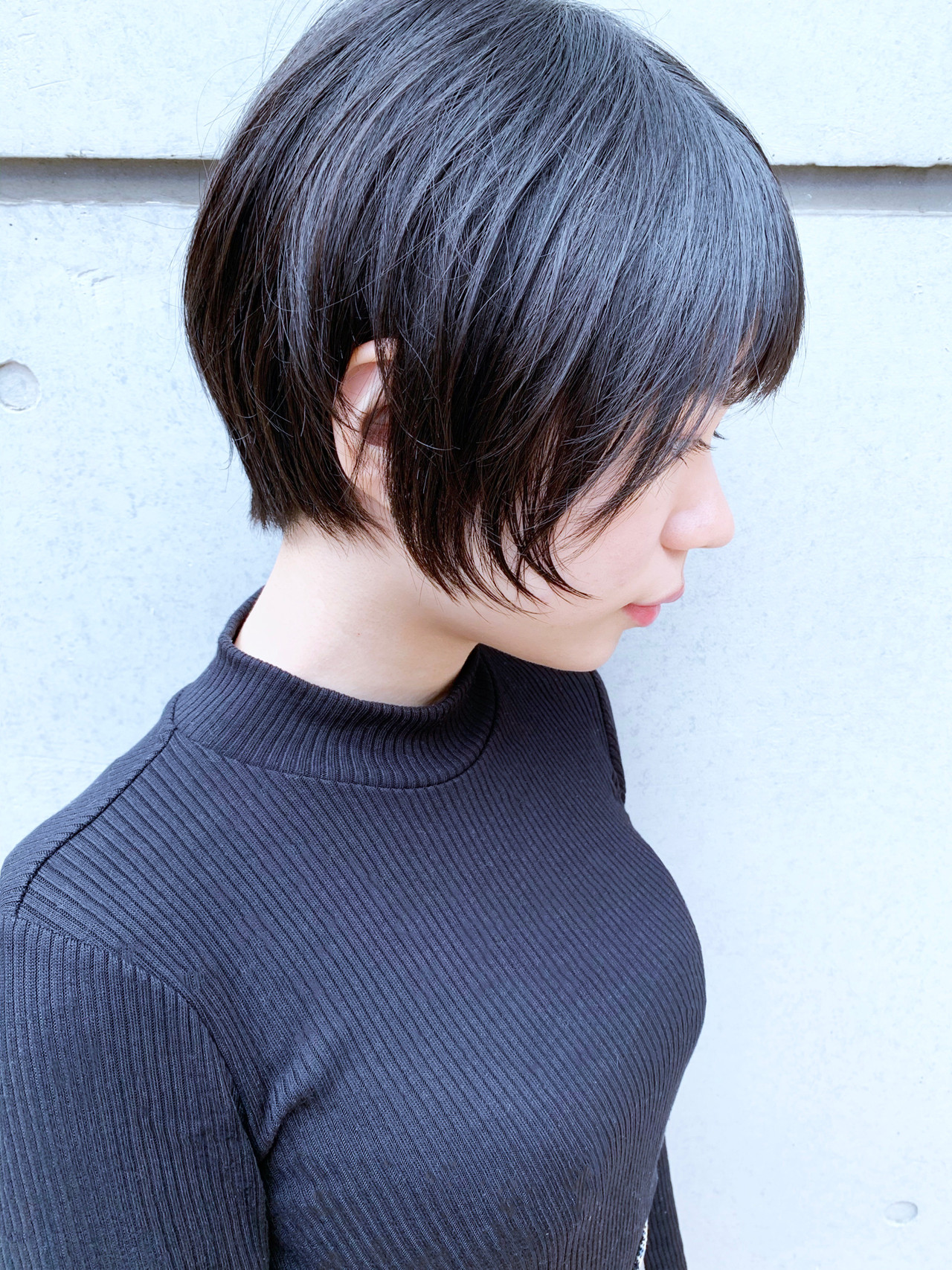 ベリーショート ショート ナチュラル ミニボブ ヘアスタイルや髪型の写真・画像