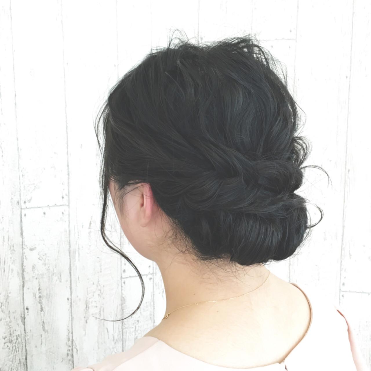 パーマ 黒髪 大人かわいい ヘアアレンジ ヘアスタイルや髪型の写真・画像 | SAKURA 村上 ゆうすけ / Lifesalon SAKURA