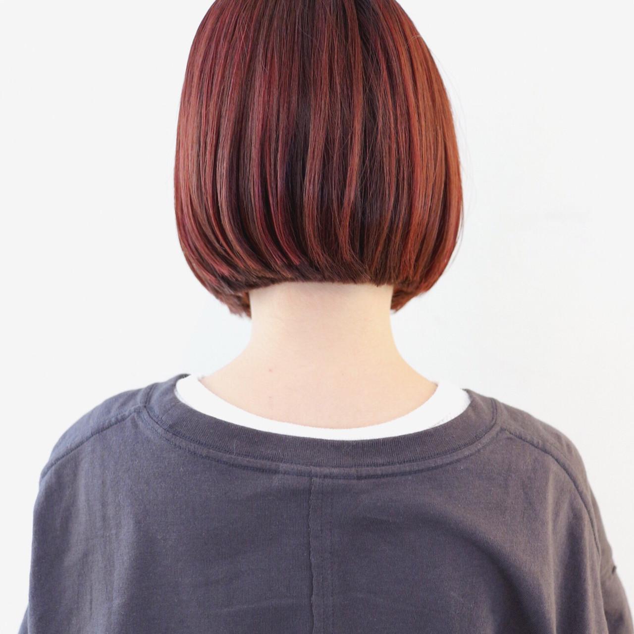 ストリート ブリーチカラー インナーカラー ハイライト ヘアスタイルや髪型の写真・画像