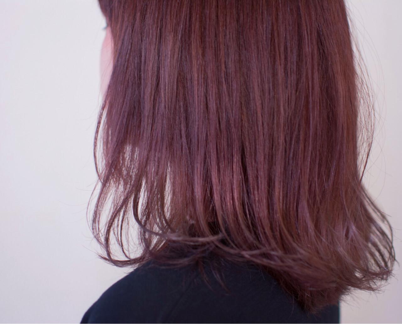 ほんのりピンクにきゅんとする。愛され「ラベンダーアッシュ」のヘアスタイルまとめ  野口 輝/vicushair