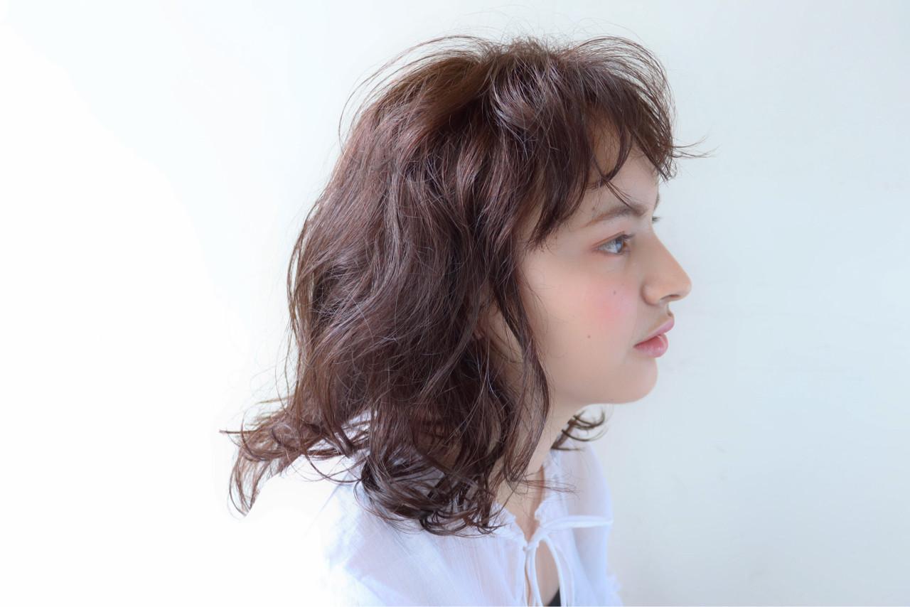 モテ髪 愛され 外国人風 ゆるふわ ヘアスタイルや髪型の写真・画像