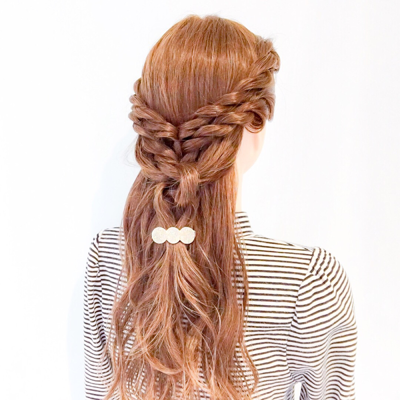 ねじり ロング ヘアアレンジ 上品 ヘアスタイルや髪型の写真・画像 | 美容師HIRO/Amoute代表 / Amoute/アムティ