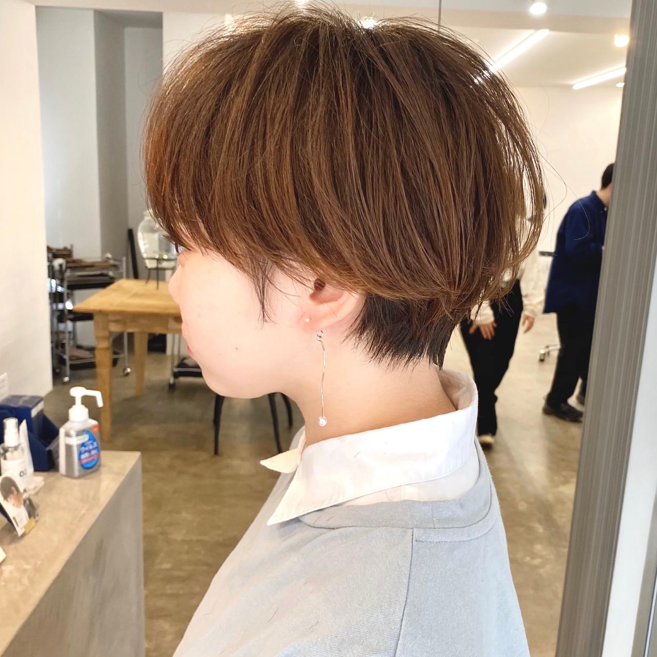 大人かわいい ショート アンニュイ 小顔ショート ヘアスタイルや髪型の写真・画像   【ショート&ショートボブはお任せください】淺川聖 / parc sapporo