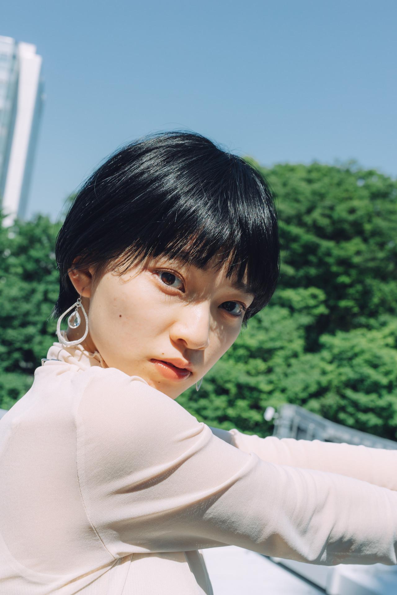 ショートヘア 小顔ショート ナチュラル 大人ショート ヘアスタイルや髪型の写真・画像   児玉善央 / GARDEN harajuku