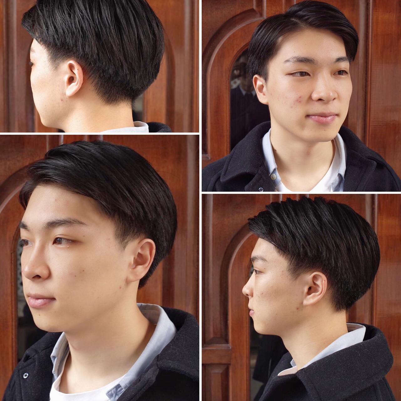 メンズショート メンズヘア メンズ ナチュラル ヘアスタイルや髪型の写真・画像