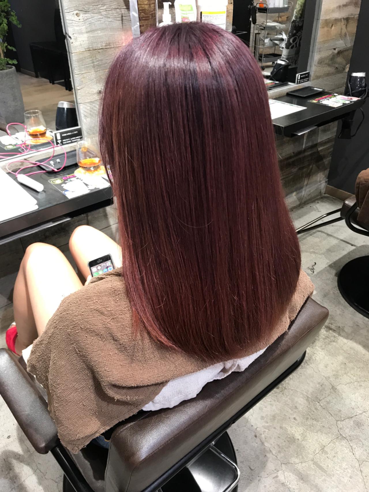 ストリート ハイライト グラデーションカラー グレージュ ヘアスタイルや髪型の写真・画像 | 長谷川 龍太 / hair design tea