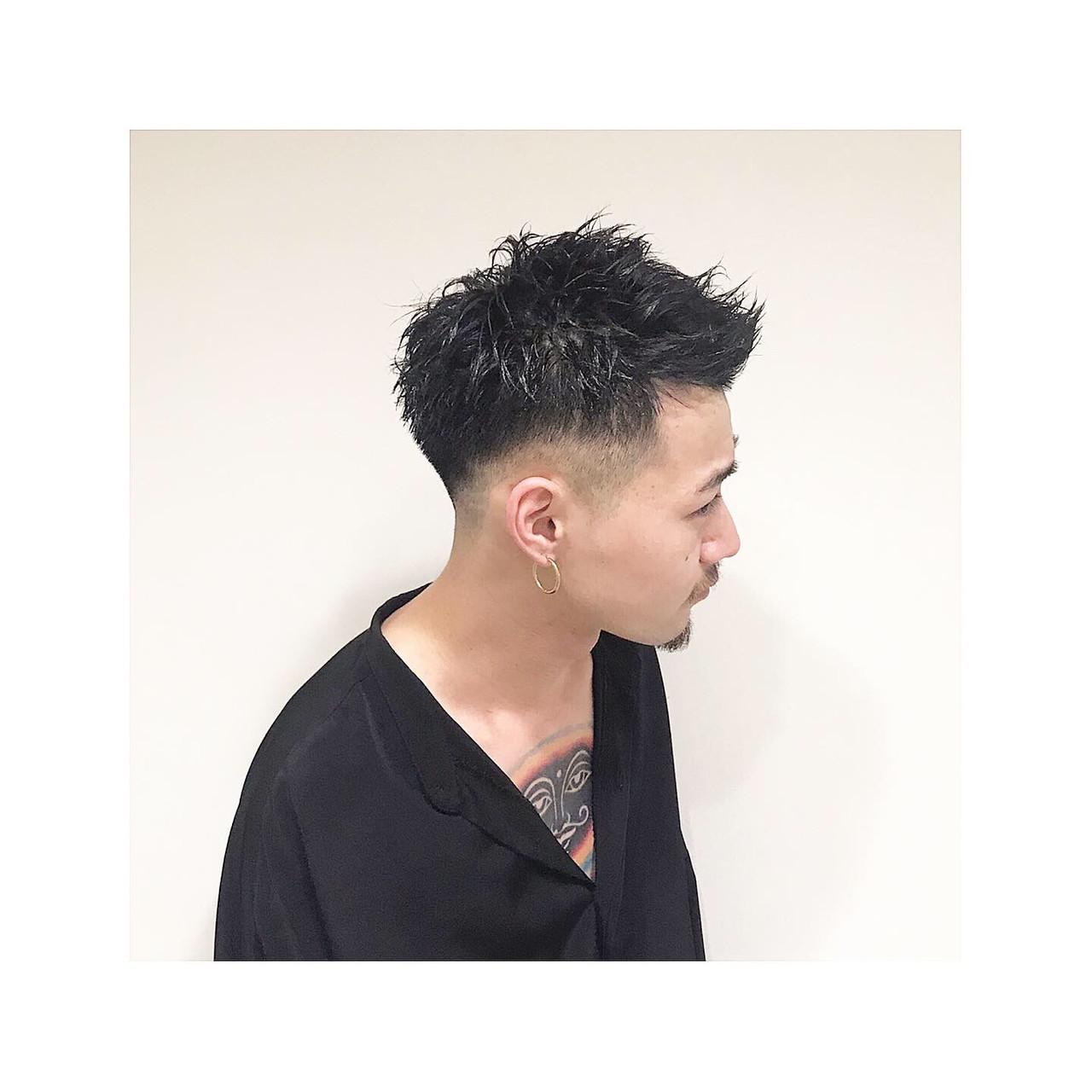 ベリーショート メンズショート スキンフェード ストリート ヘアスタイルや髪型の写真・画像