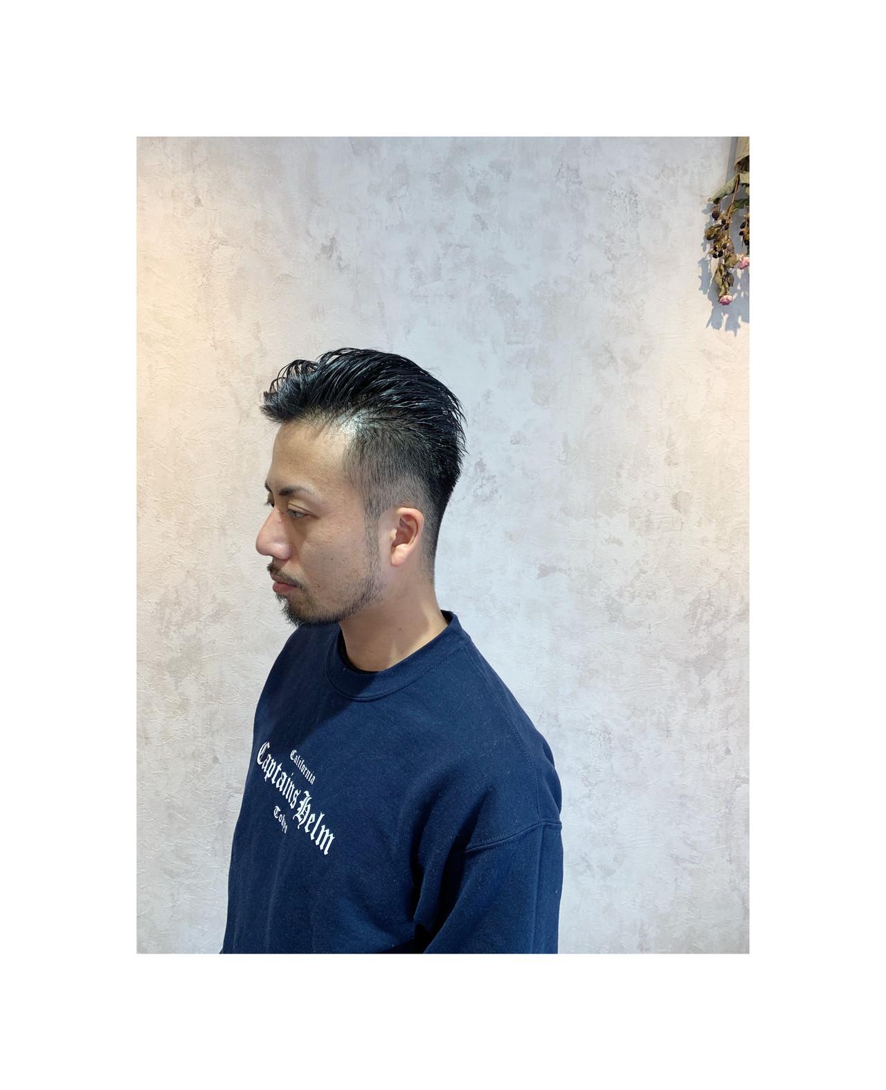 メンズカット メンズヘア メンズショート ショート ヘアスタイルや髪型の写真・画像