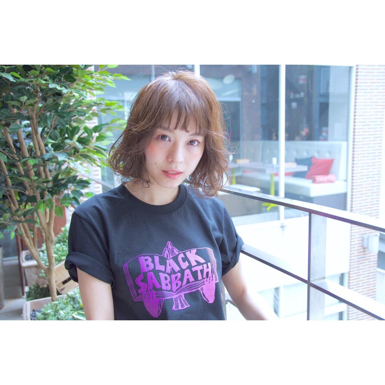ストリート 簡単 パーマ グラデーションカラー ヘアスタイルや髪型の写真・画像 | Ryota Yamamoto Daisy / Daisy