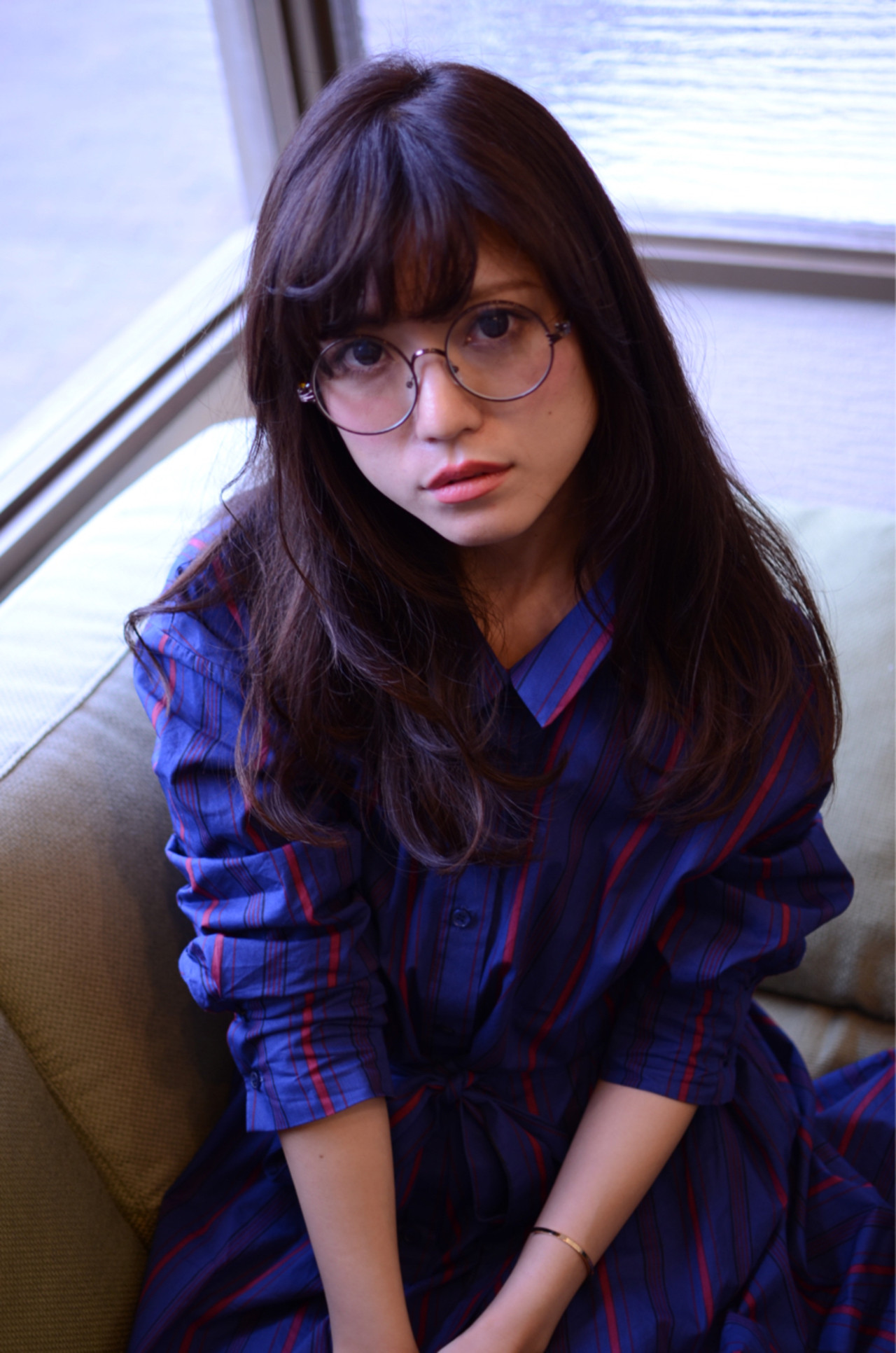 透明感 モテ髪 ナチュラル 外国人風カラー ヘアスタイルや髪型の写真・画像 | Marika Yoshioka /
