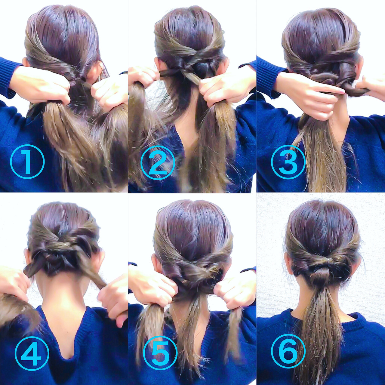 くるりんぱ ヘアアレンジ 上品 ロング ヘアスタイルや髪型の写真・画像 | 美容師HIRO/Amoute代表 / Amoute/アムティ