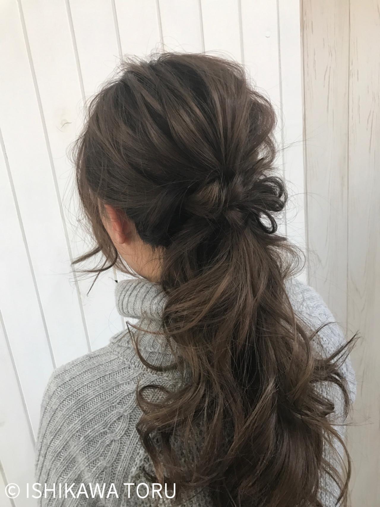 ゆるふわ ロング ナチュラル 大人かわいい ヘアスタイルや髪型の写真・画像 | ISHIKAWA TORU / Hair Salon GREENROOM